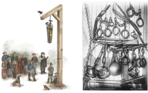 Gibbert and punishment equipment